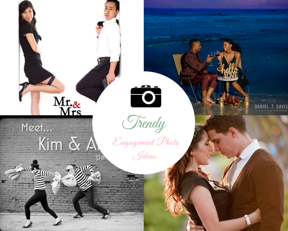 Trendy Engagement Photo Ideas