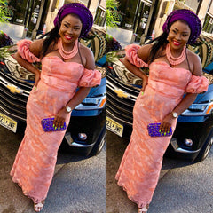 Customized African Dress