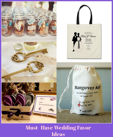 Must have wedding favor ideas