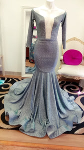 Shimmer Mermaid Prom Dress