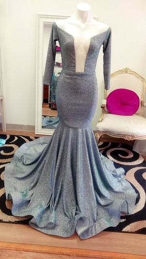 Shimmer Mermaid Gown