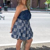Denim Bubble Dress