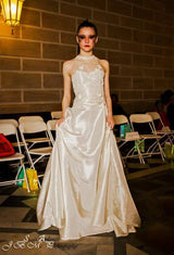 Wedding - High Neckline A-Line Wedding Dress