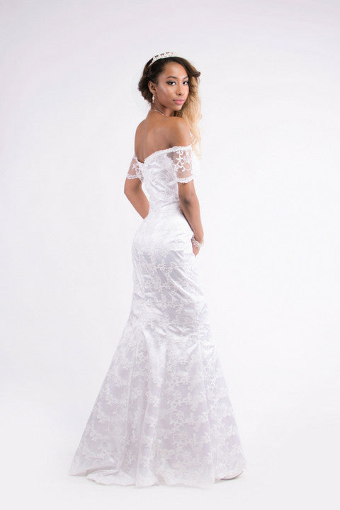 Wedding - Lace Mermaid Wedding Dress