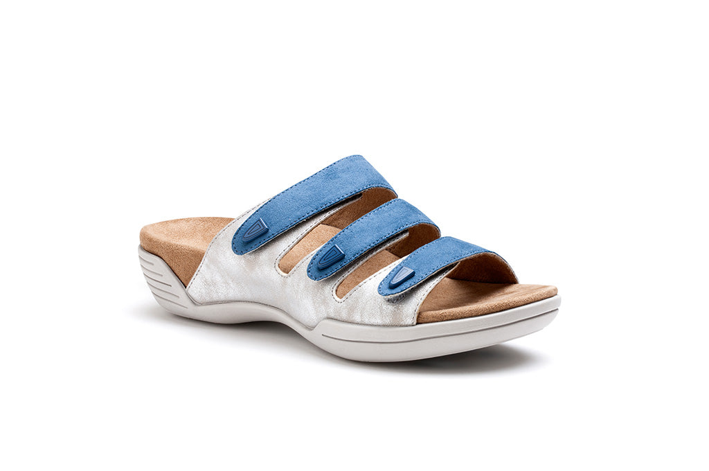 Nilsa (Light blue - Silver)