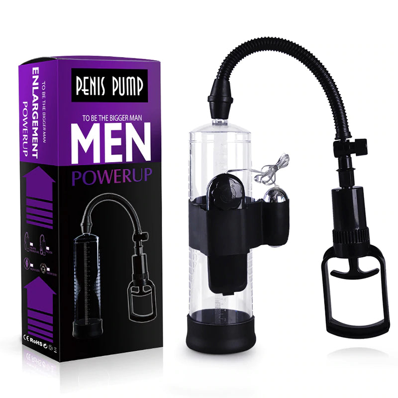 Penis Pump With Vibrator