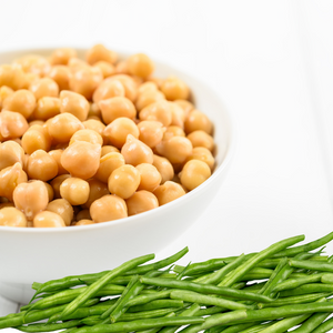 Smooth Duos (6-7 months): Green Beans & Chickpeas