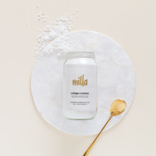 pure vanilla collagen creamer 350g (unsweetened)