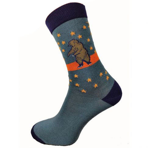 Big Bear Bamboo Socks Size 7-11