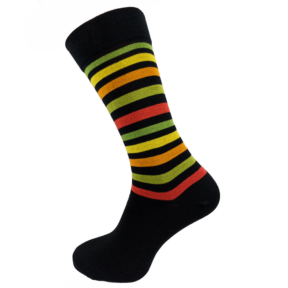 Zesty Stripe Bamboo Socks Size 7-11