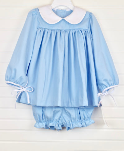 Light Blue Pique Charlotte Set
