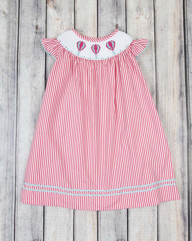 Smocked Hot Air Balloons Bishop - Girls - Stellybelly - 1