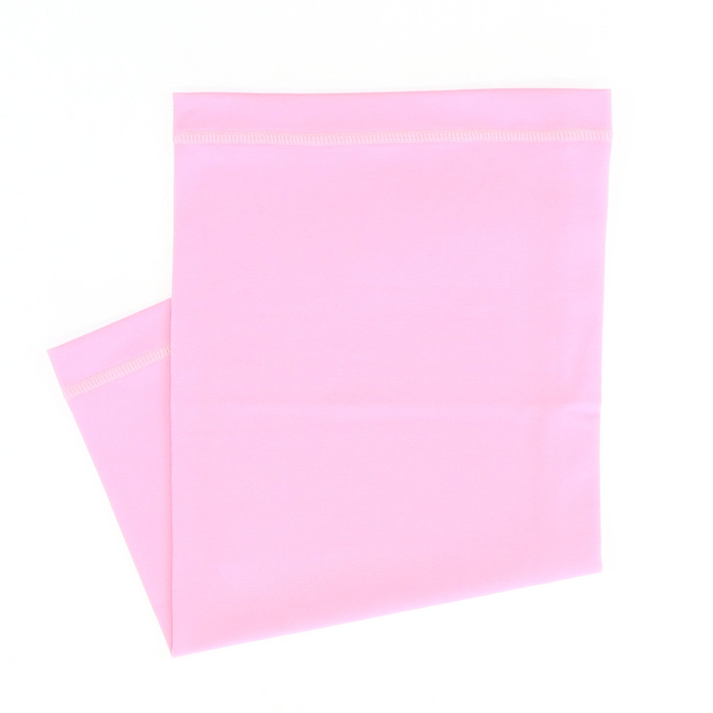 Solid Flamingo Pink Neck Gaiter