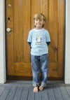 Penguin Sled Applique LS T-Shirt - Boys - Stellybelly - 3
