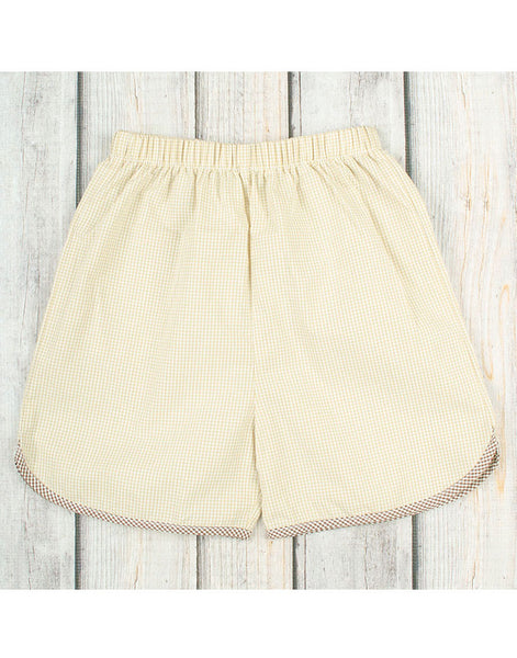 Beige Boys Shorts - Boys - Stellybelly