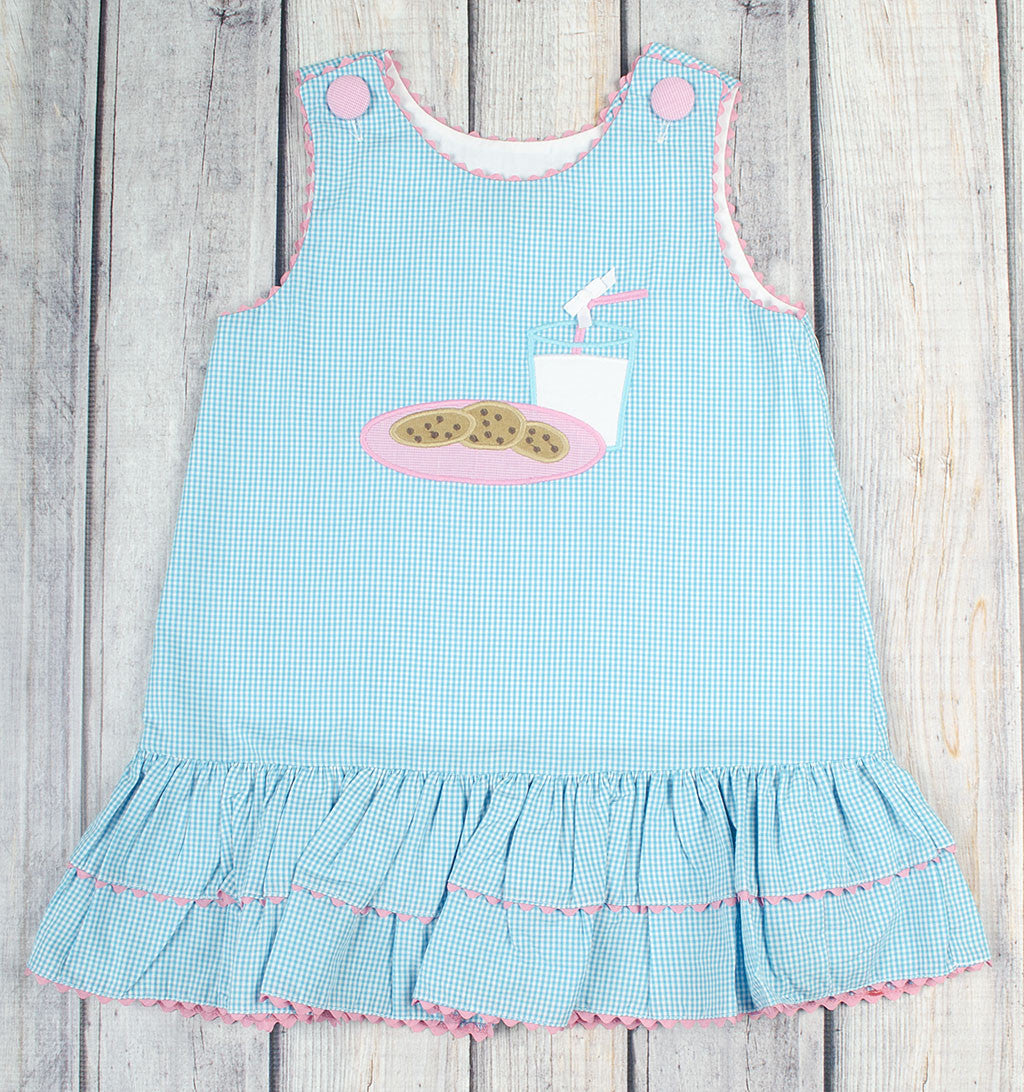 Milk And Cookies A Line Dress