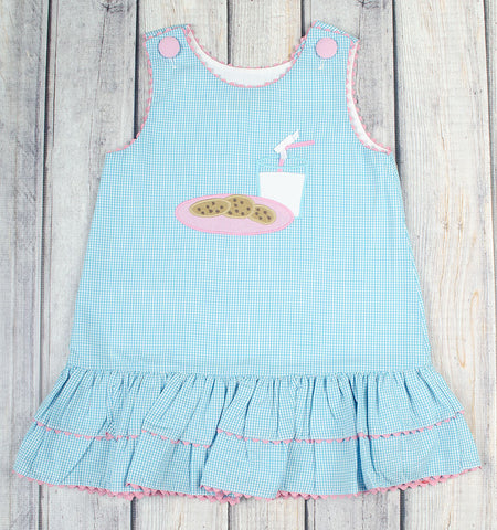 Milk and Cookies A-Line Dress