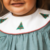 Embroidered Christmas Tree Dress