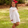Smocked Candy Cane Dress