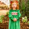 Smocked Christmas Bow Dress