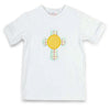 Cross Mono Applique T-Shirt