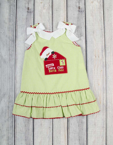 Letter to Santa A-Line Dress - Girls - Stellybelly - 1