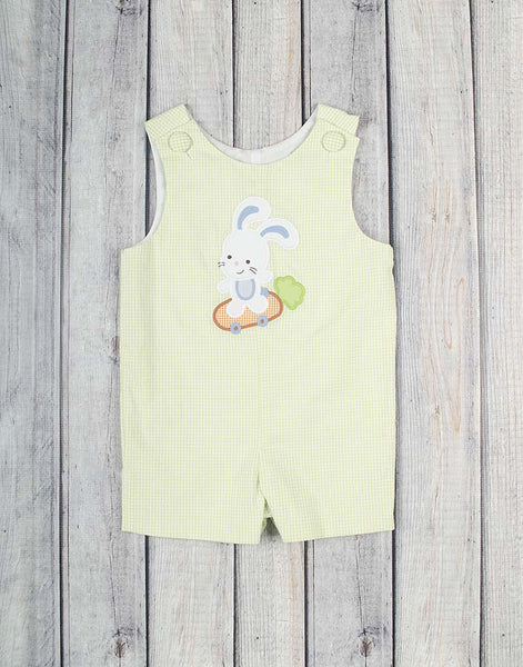 Bunny Skater Applique Jon Jon - Boys - Stellybelly - 1