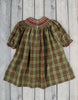 Christmas Plaid Geo Bishop - Girls - Stellybelly - 3