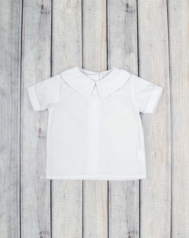 Boys SS Peter Pan Collar Shirt - Boys - Stellybelly - 1