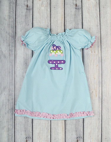 Cake Stand Stella Puff Sleeve Dress - Girls - Stellybelly - 1