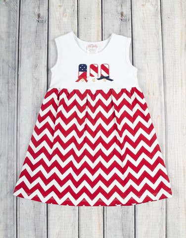 Patriotic Popsicle Knit Kelly Dress - Girls - Stellybelly - 1