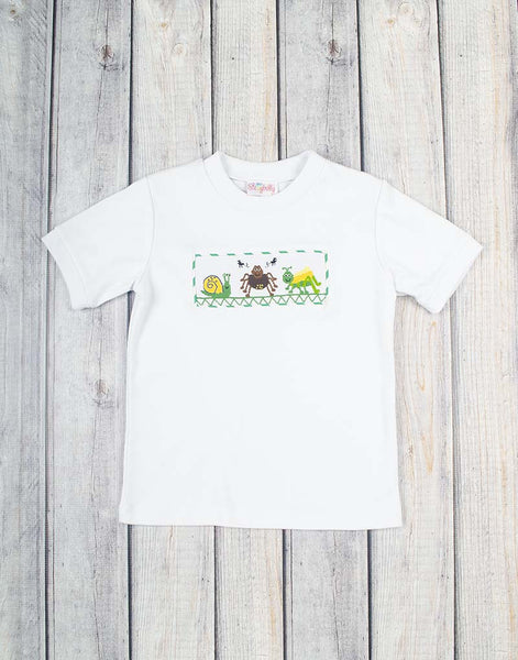 Smocked Bugs Boys T-Shirt - Boys - Stellybelly - 1