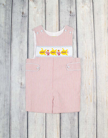 Smocked Yellow Submarine Jon Jon - Boys - Stellybelly - 1