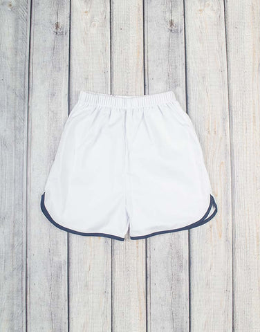 Navy/White Boy Shorts - Boys - Stellybelly - 1