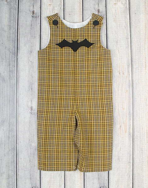 Bat Applique Longall - Boys - Stellybelly - 1