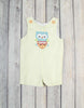 Surfer Owl Applique Jon Jon - Boys - Stellybelly
