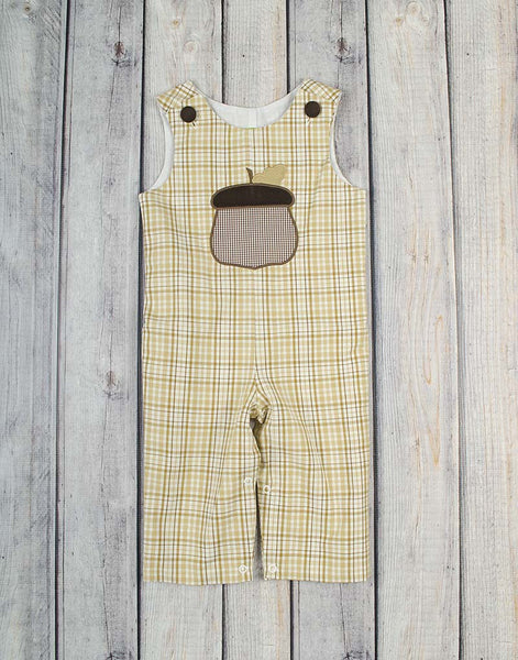 Acorn Applique Longall - Boys - Stellybelly - 1