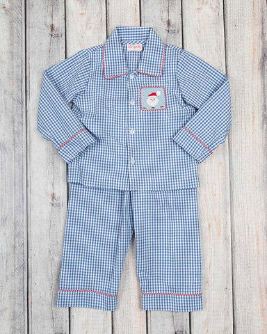 Smocked Santa Boys Loungewear