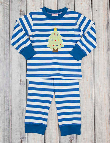Christmas Tree Applique Boys Loungewear