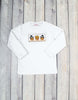 Smocked Brown Pilgrim/Indian Turkey LS T-Shirt - Boys - Stellybelly - 1
