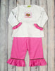 Smocked Girlie Turkey Pant Set - Girls - Stellybelly - 1