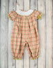 Smocked Pumpkin Vine Long Bubble - Girls - Stellybelly - 2