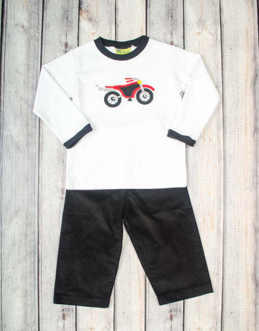 Motorcycle Pant Set - Boys - Stellybelly - 1