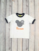 Halloween Mouse Applique T-shirt - Boys - Stellybelly - 1