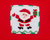 Smocked Santa Red Fleece Hoodie - Unisex - Stellybelly - 2