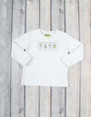 Smocked Stockings Long Sleeve Shirt - Boys - Stellybelly - 1