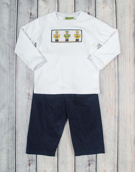 Smocked Nutcracker Pant Set - Boys - Stellybelly - 1
