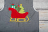 Santa Sleigh Applique Longall - Boys - Stellybelly - 3