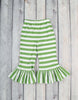 Red/Green Stripe Peyton Pant Set - Girls - Stellybelly - 2
