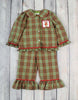 Girls Plaid Reindeer Loungewear - Girls - Stellybelly - 1